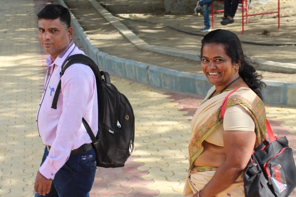 Pravin led Sangeeta to a happier future