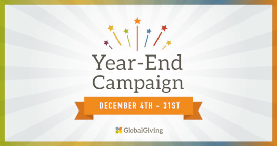 Help us win prizes - donate now