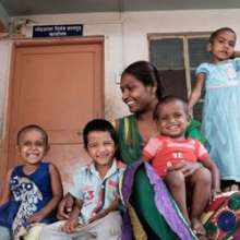 Anjuna is mother to many children