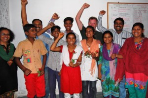 Our 12th standard students celebrate their results