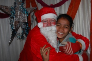 Our children are excited to see Santa again