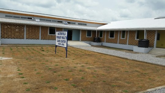 Equipping a New Kakata Primary Health Center