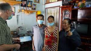 New year's gift for two of our MDR-TB patients