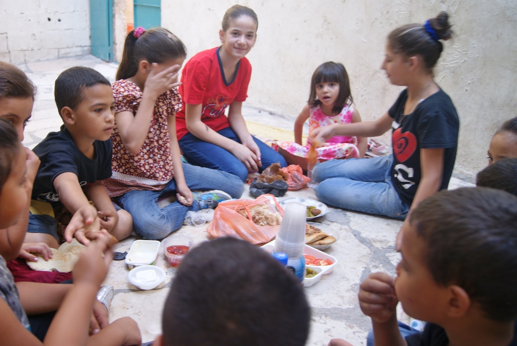 Some of the activities - with only Deheishe kids