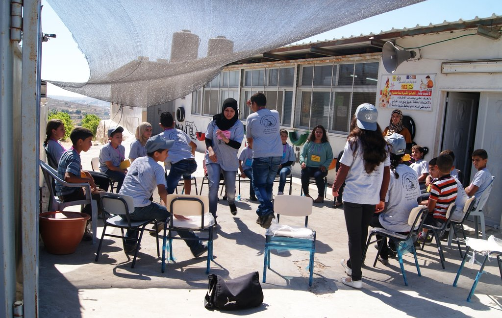 Summer camps for two isolated Palestinian groups
