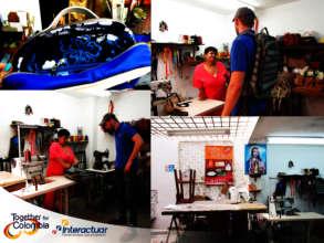 Visiting Sofia's Workshop