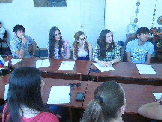 Youth Participating in Volunteerism Seminar