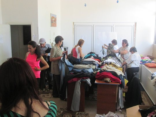 Donating Clothes and Other Goods