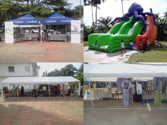 The fair of AGAPE association