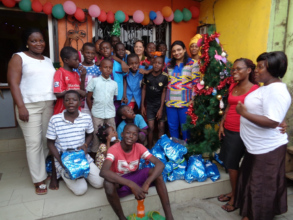 Christmas the time of sharing and giving