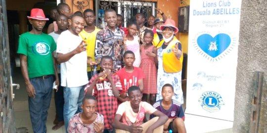 Visit of Lions Club Abeille