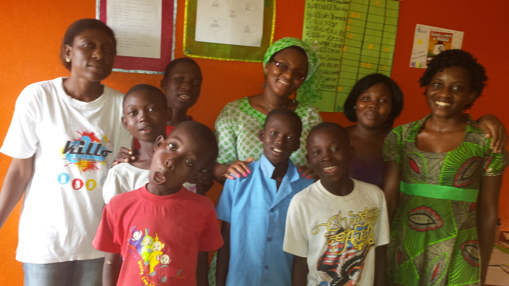Refuge center for 20+ vulnerable kids in Douala