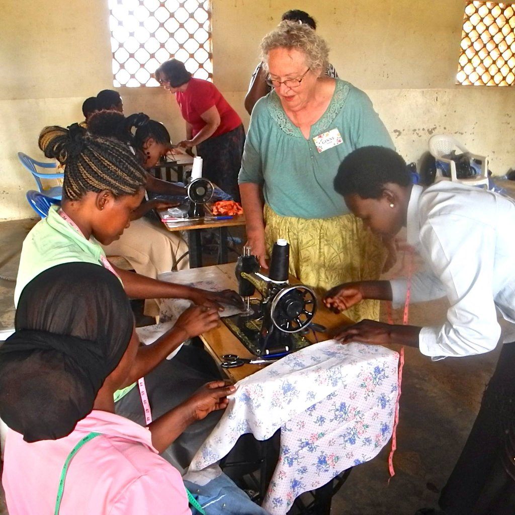 How To Profit From A Home Sewing Business: Change A Ugandan Life With Sewing Lessons
