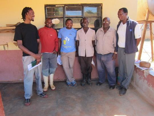 Dip Tank Committee members and Vusumnotfo staff