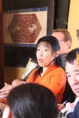 Chinese participant discussing South China tigers