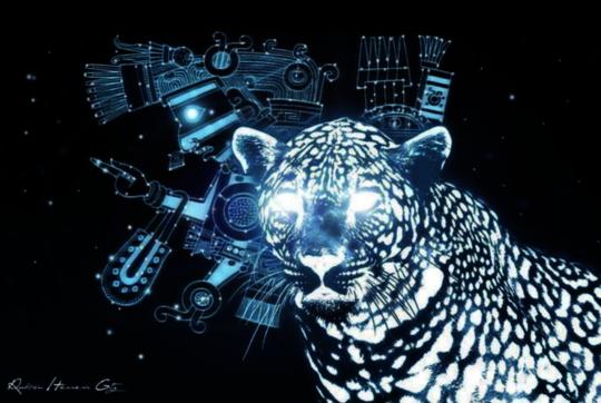 Jaguar of Light from Oaxaca
