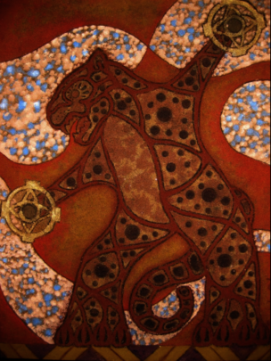 An example of ICP Olmos' artwork