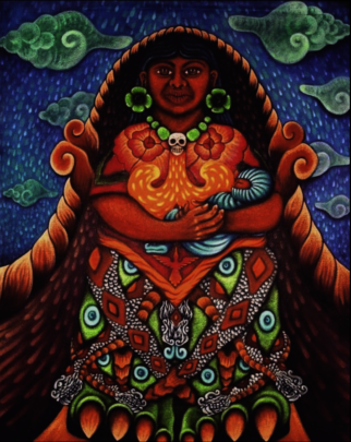 More examples of ICP Olmos' artwork
