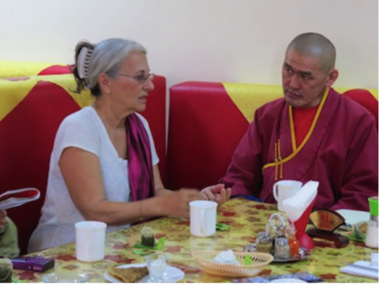 Meeting with Norbu Lama, Soyot shaman and monk