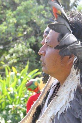 Tashka of the Yawanawa tribe