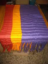 Scarves Produces on a Foot-Loom