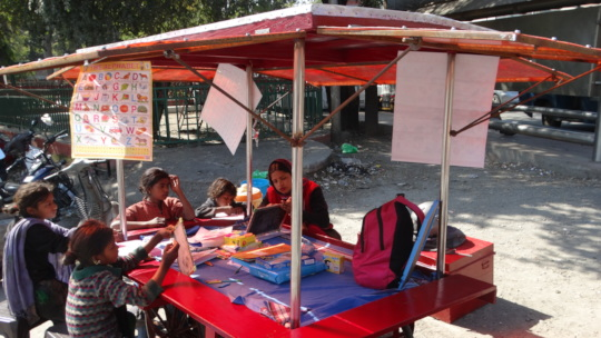 Education Centers on refurbished vendor carts