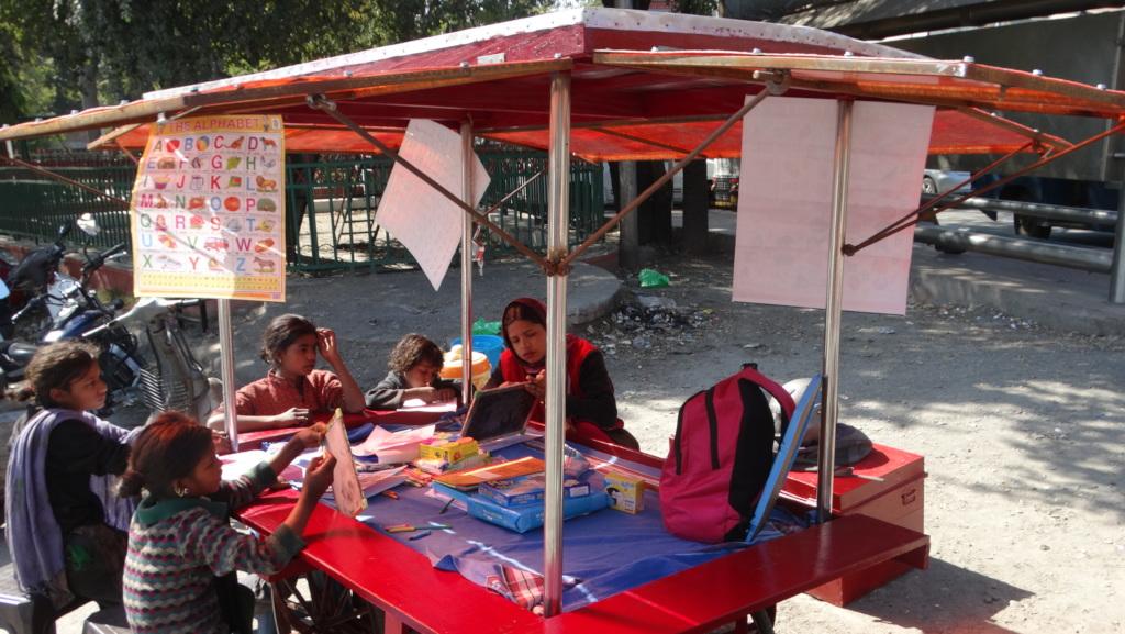 Education Centers on refurbished vendor carts
