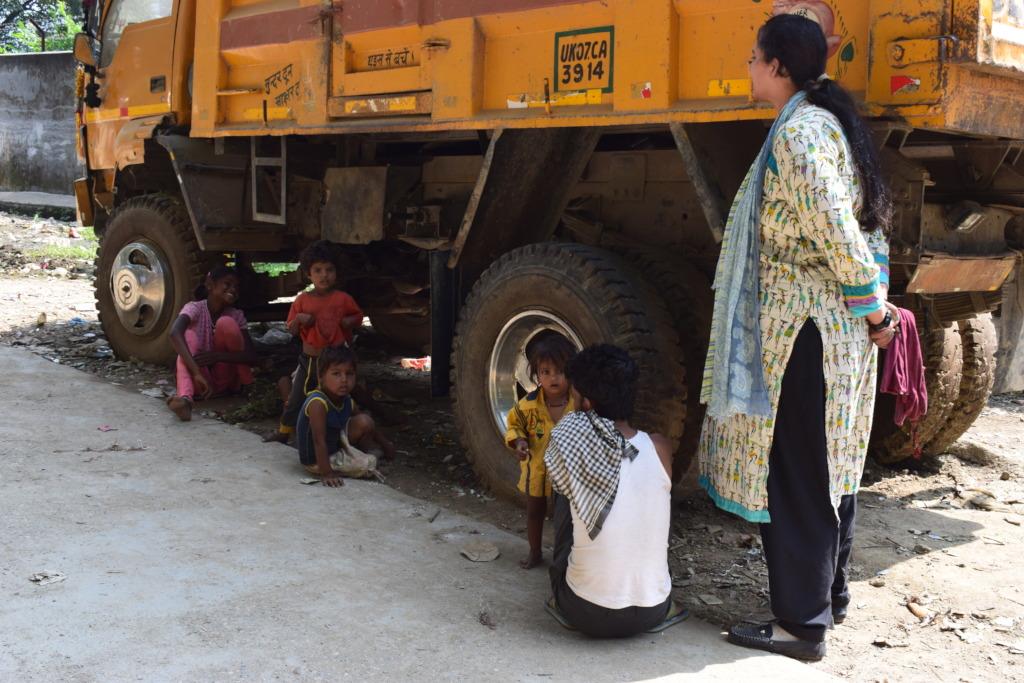 Identifying children not in school