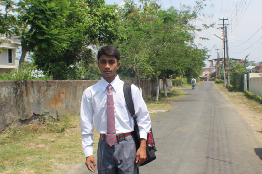 Govind, a runaway, back to school
