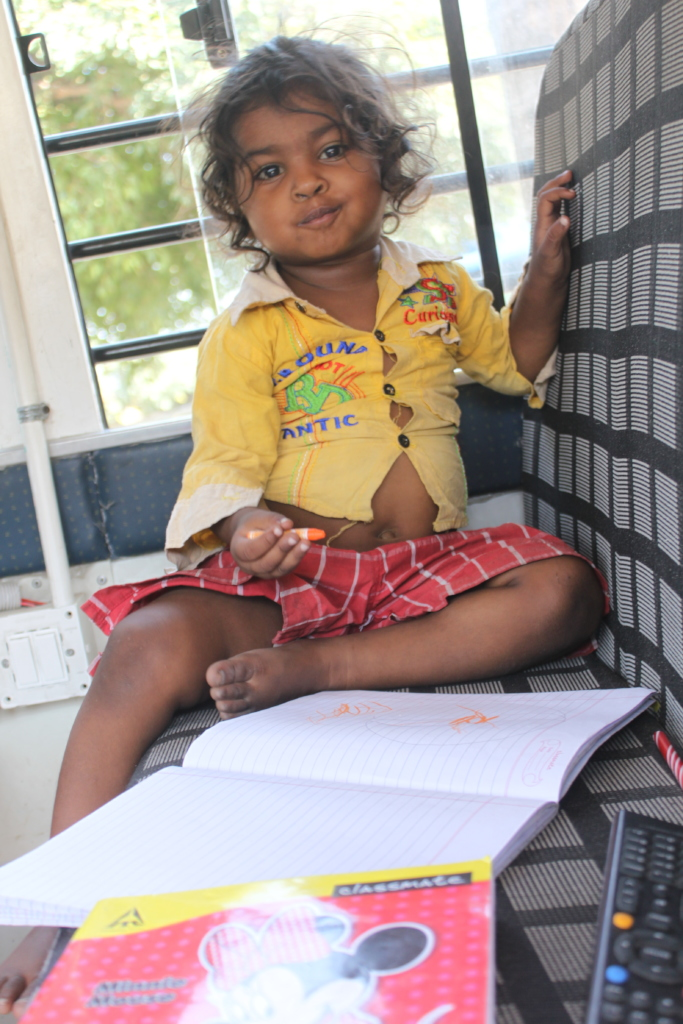 Mobile Learning Centers reach out to children
