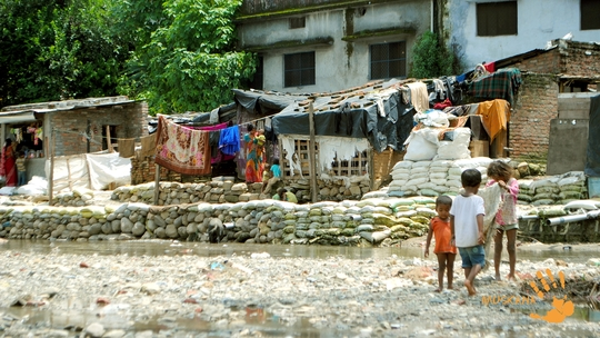 Dismal Condition of Bindal Slum