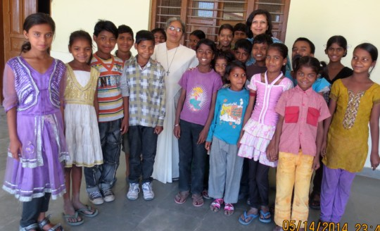 During her Street Smart days-3rd frm Right