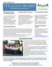 Newsletter August - September 2014 (PDF)