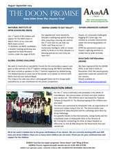 Newsletter August - September 2014 (PDF)