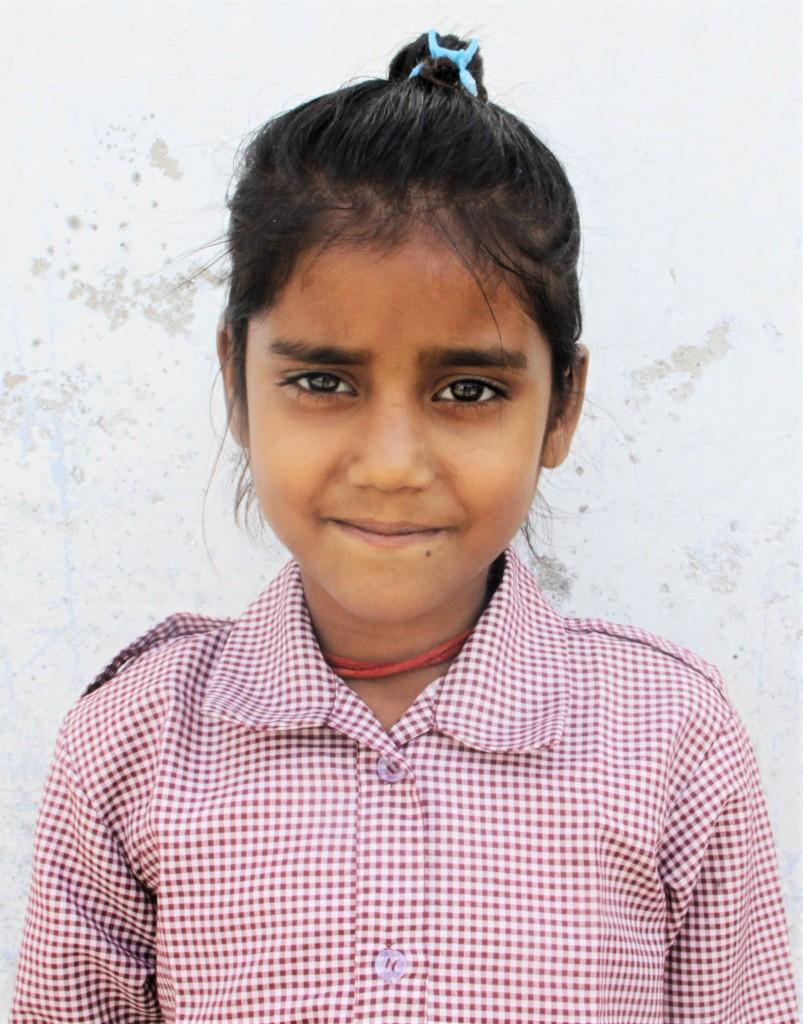 Radhika studies in second grade
