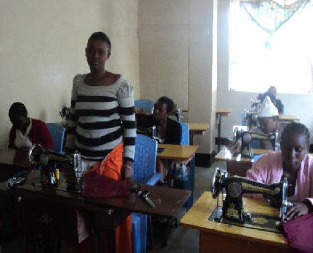 Train 10-30 women in Arusha to sew menswear