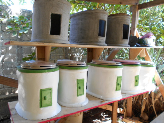 New household toilets under construction