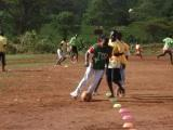 Mercy Atoo in aprevious soccer training session at TYSA Sports C