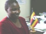 Mercy Atoo at the Headmasters' office of Mashariki High School K
