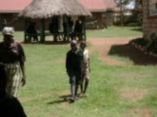 Samson Tabsowas being welcomed to Eldoret