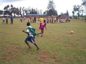 40 Children particpate in Sports