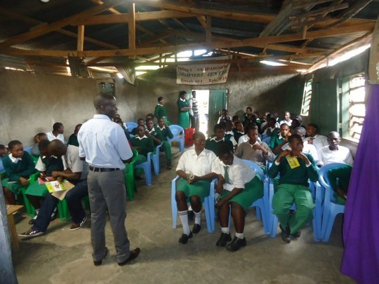 Educate slum child in Kenya