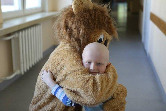 Klaidas and the Lion