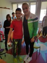 Olympic swimming champion Ruta Meilutyte