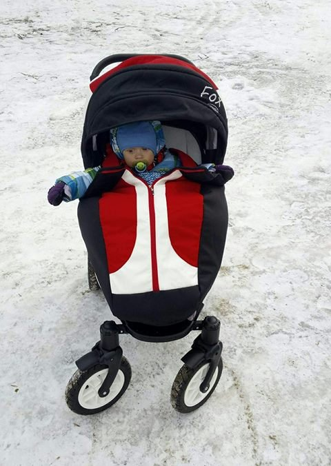 Augustas biggest dream - new stroller