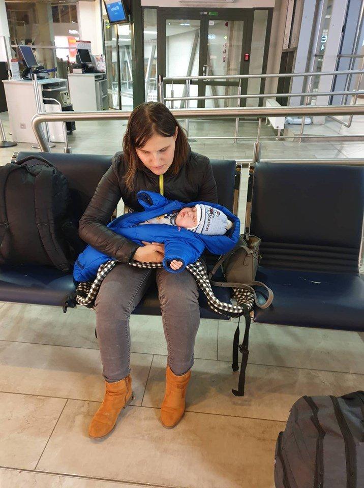 Adrijus going to the Switzerland