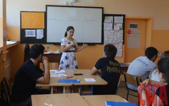Gabriela and her class