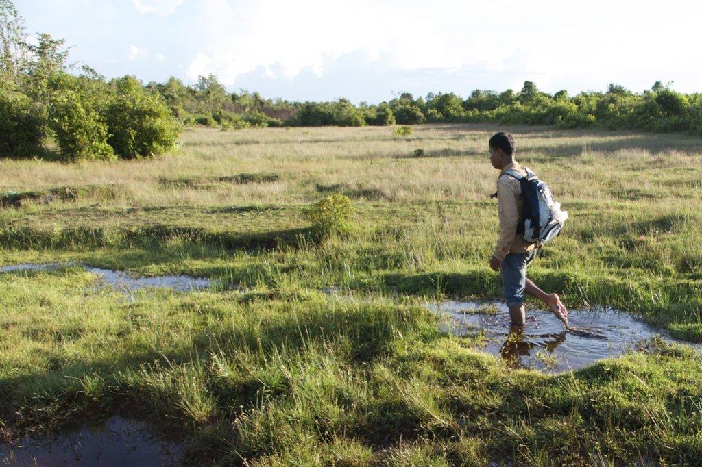 No easy trek to Santey, a village in isolation