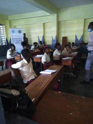 COVID training in schools
