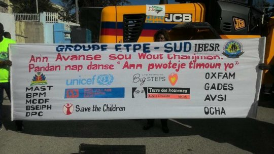 """""""While we are dancing, let's protect the children"""""""